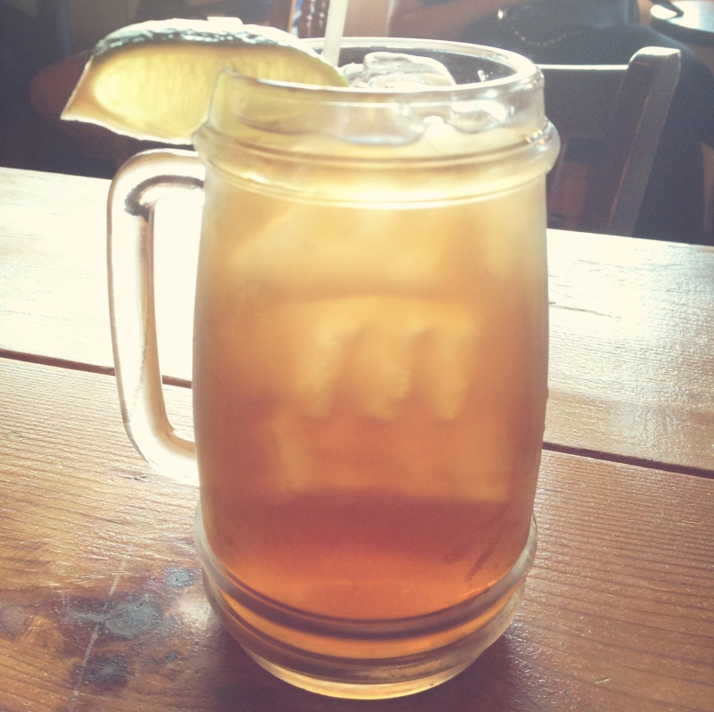 Long island iced tea. Cheers!