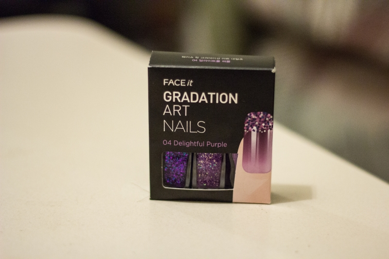Face It Gradation Nail Polish