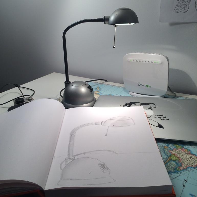 my desk lamp