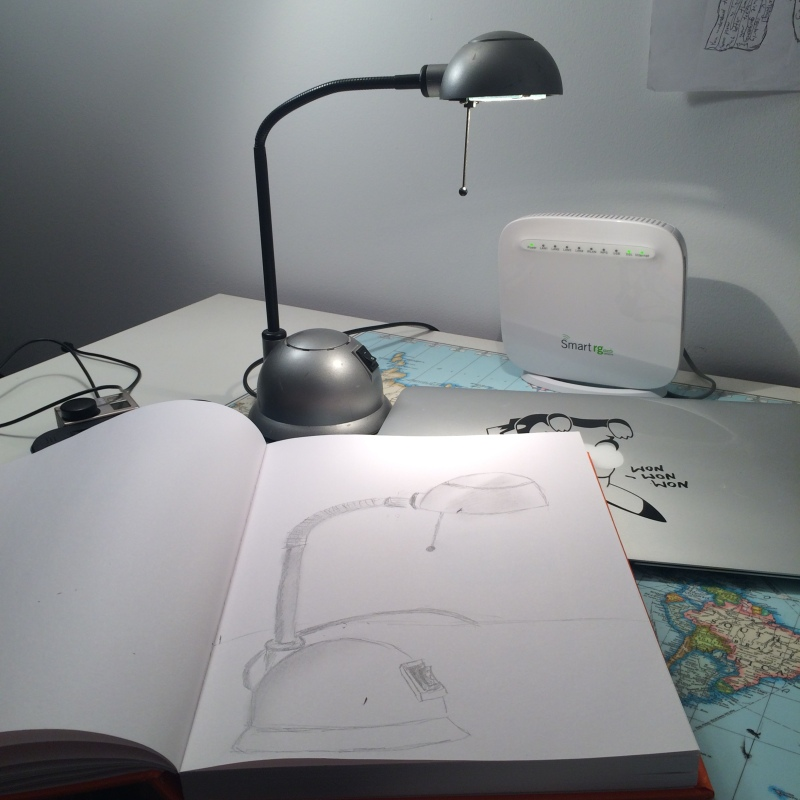 my desk lamp