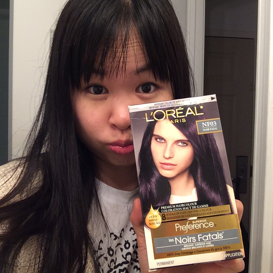 Can You Tell I Dyed My Hair Tiana Feng