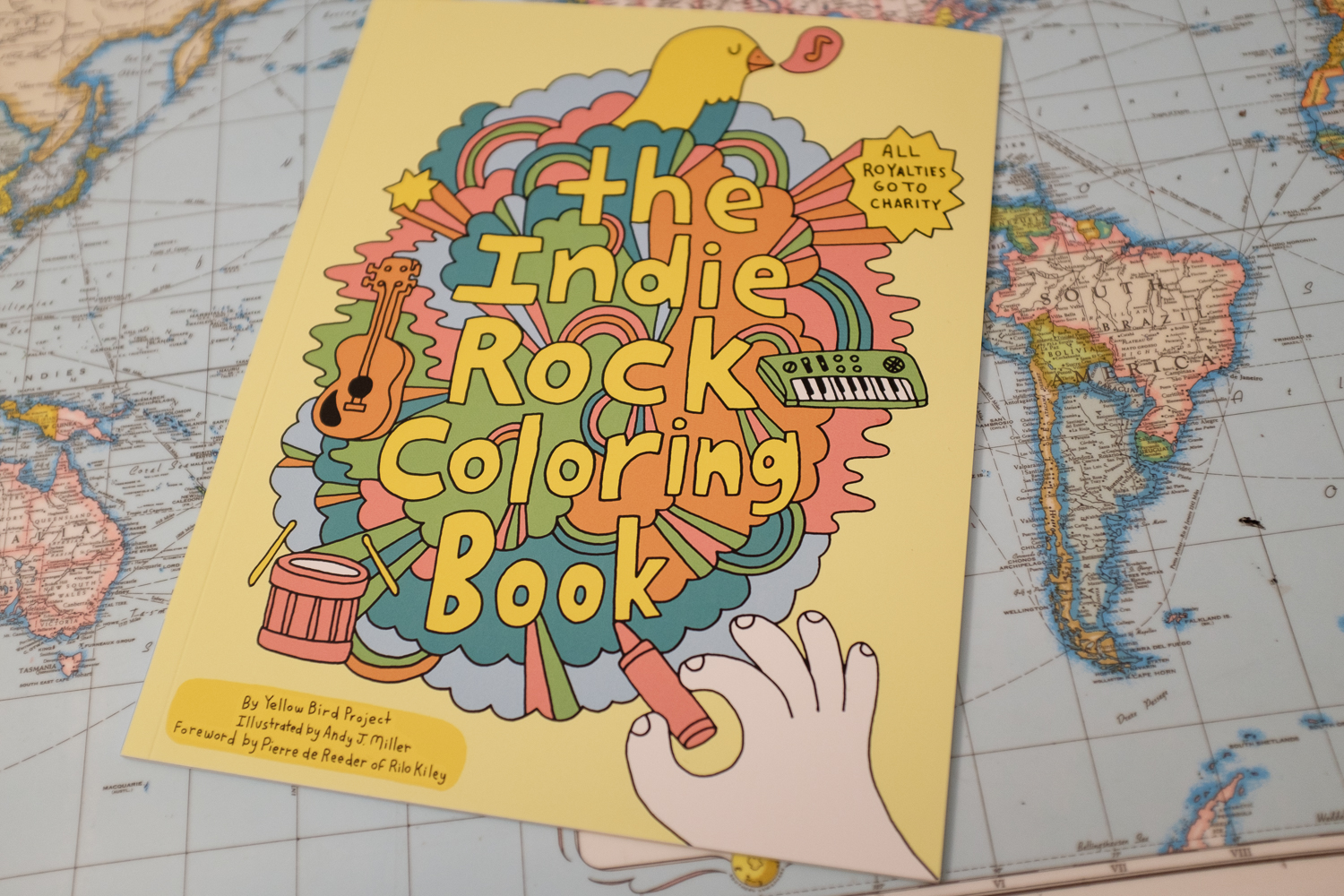 indie rock coloring book – Tiana Feng