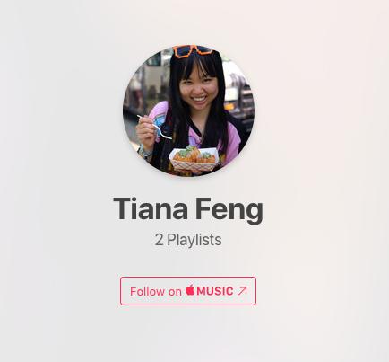 Follow me on AppleMusic!