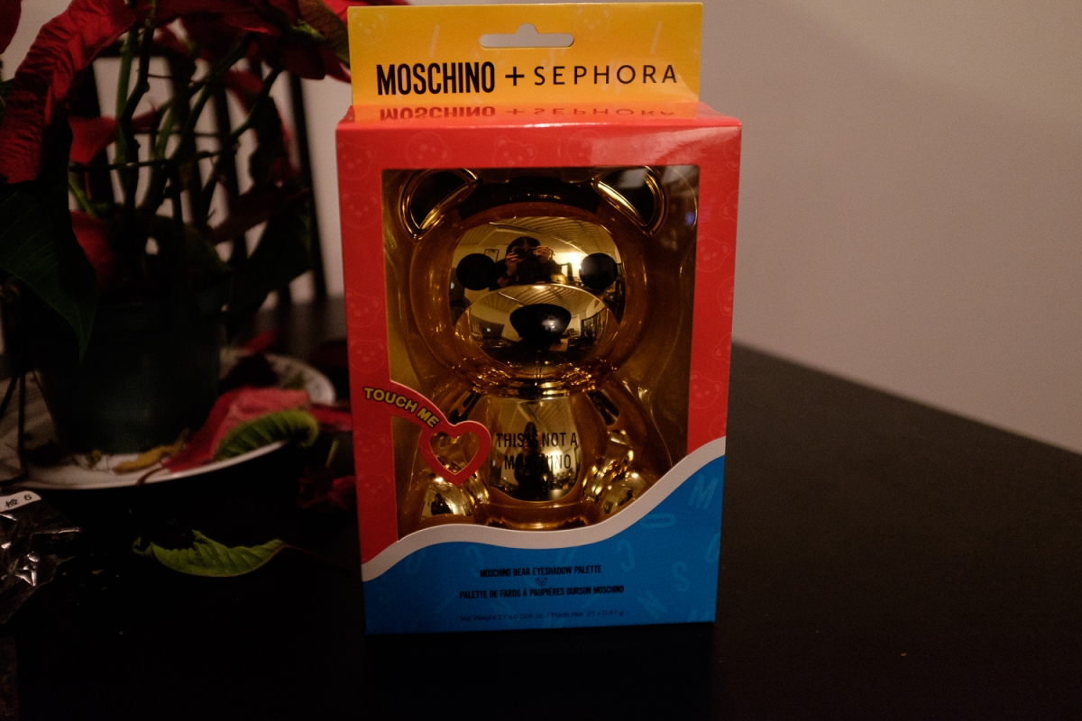 Moschino + Sephora Bear Eyeshadow Palette