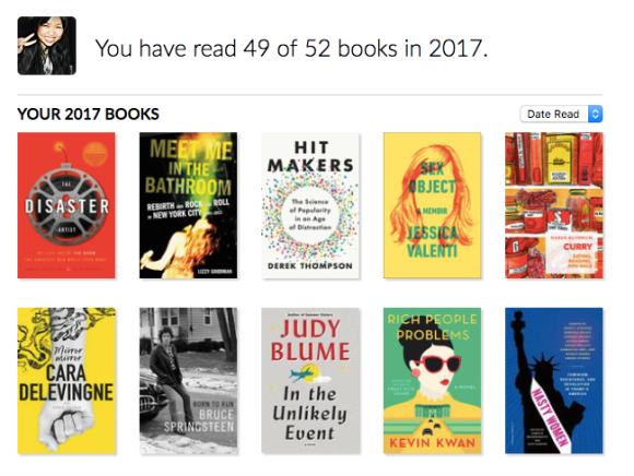 The 49 Books I Read in 2017